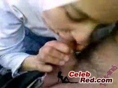 Blowjob vom Girl mit Kopftuch